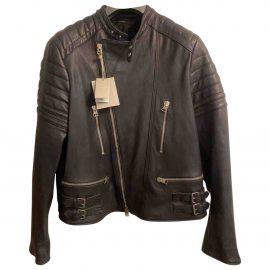 Tom Ford N Black Leather Jacket for Men