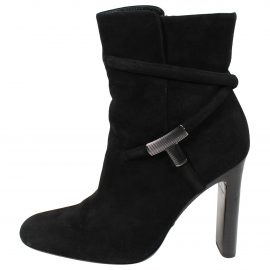 Tom Ford N Black Suede Ankle boots for Women