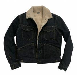 Tom Ford N Blue Shearling Jacket for Men