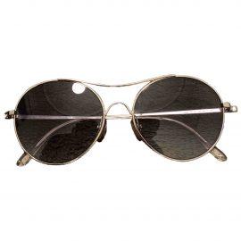 Tom Ford N Grey Metal Sunglasses for Men