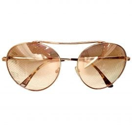 Tom Ford N Pink Metal Sunglasses for Women