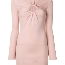 Tom Ford gathered detail fitted dress - PINK