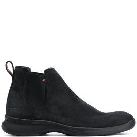 Tommy Hilfiger Hybrid suede Chelsea boots - Black
