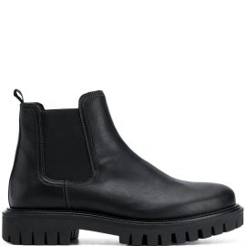 Tommy Hilfiger chunky sole Chelsea boots - Black