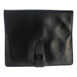 Vacheron Constantin black Leather Small Bags, Wallets & Cases