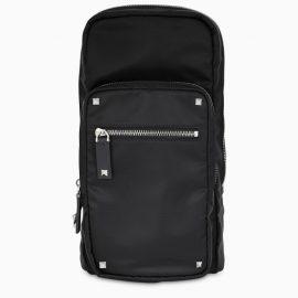 Valentino Garavani Black VLTN crossbody bag