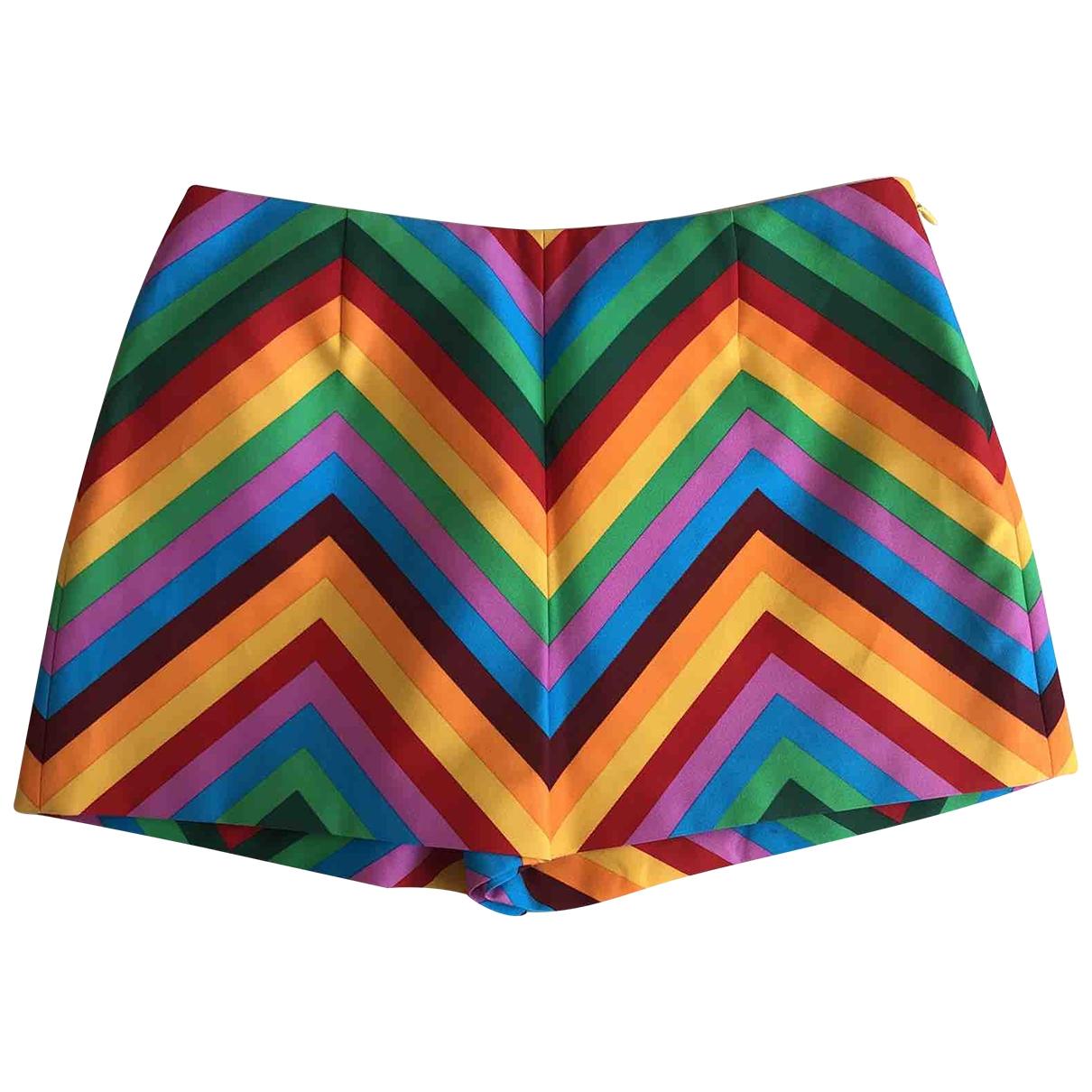 Valentino Garavani N Multicolour Cotton Shorts for Women