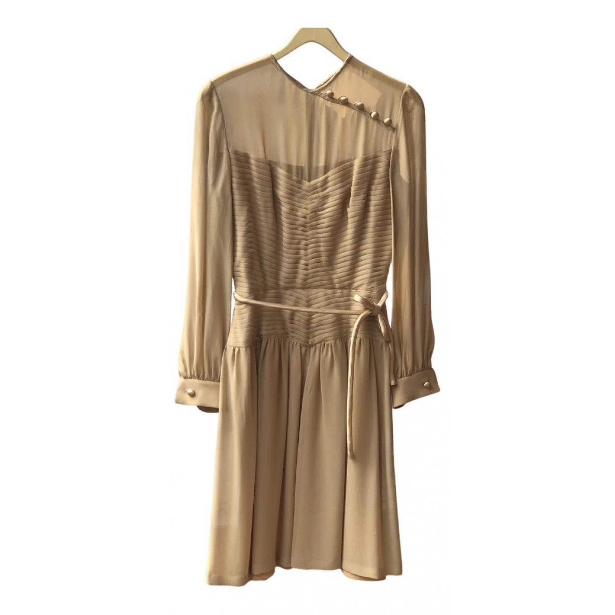 Valentino Garavani N Pink Silk Dress for Women