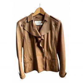 Valentino by mario valentino Leather short vest