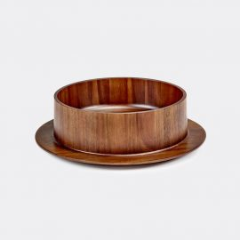 Valerie_objects Tableware - 'Dishes to Dishes Hunky Dory' bowl in wood acacia-wood
