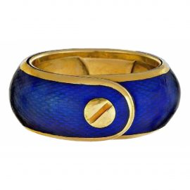 Van Cleef & Arpels N Multicolour Yellow gold Ring for Women