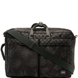 Vans palm tree-print laptop bag - Green