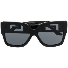 Versace Eyewear Greca oversized sunglasses - Black