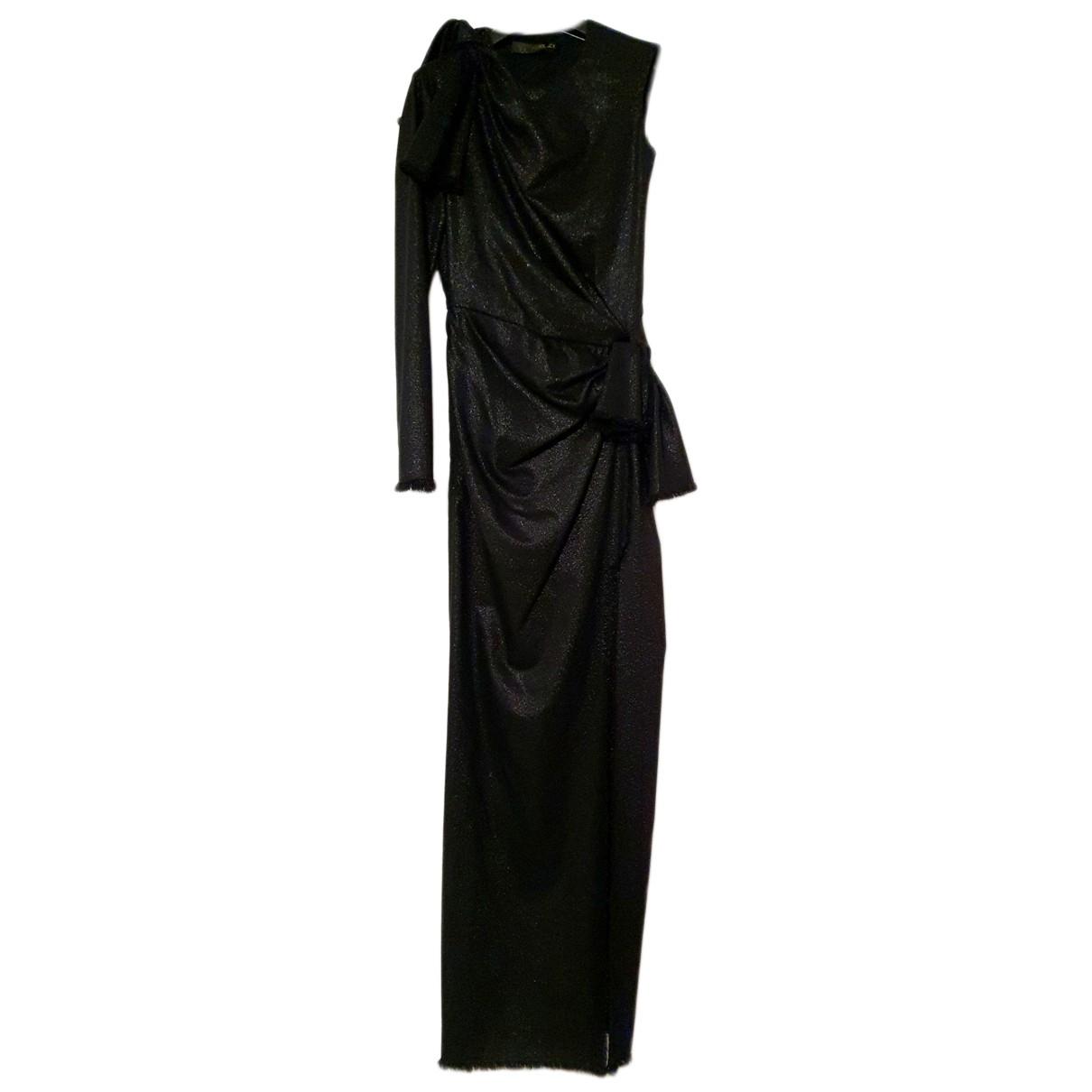 Versace N Black Wool Dress for Women