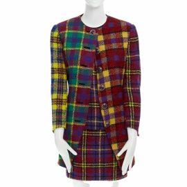 Versace N Multicolour Wool Dress for Women
