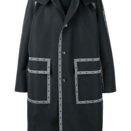 Versace Nastro Versace hooded parka - Black