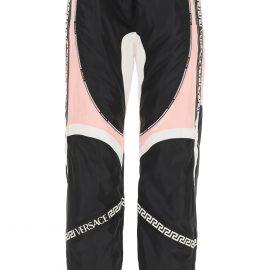 Versace Satin And Nylon Jogger Pants