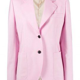 Versace single-breasted blazer - Pink