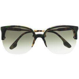 Victoria Beckham Eyewear round-frame sunglasses - Brown