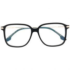 Victoria Beckham Eyewear square frame glasses - Gold