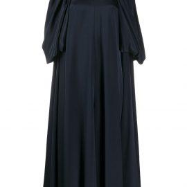 Victoria Beckham Mono midi dress - Blue