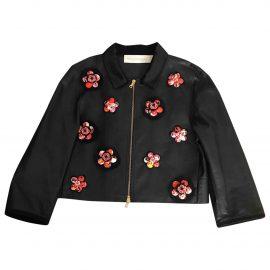 Victoria, Victoria Beckham Leather short vest