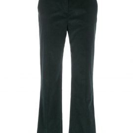 Victoria Victoria Beckham high-waisted corduroy trousers - Green