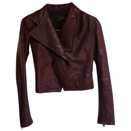 Vivienne Westwood Anglomania Leather short vest