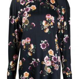 Vivienne Westwood Cocco floral-print blouse - Black