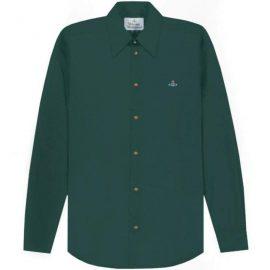 Vivienne Westwood Men's Single Button Shirt Green