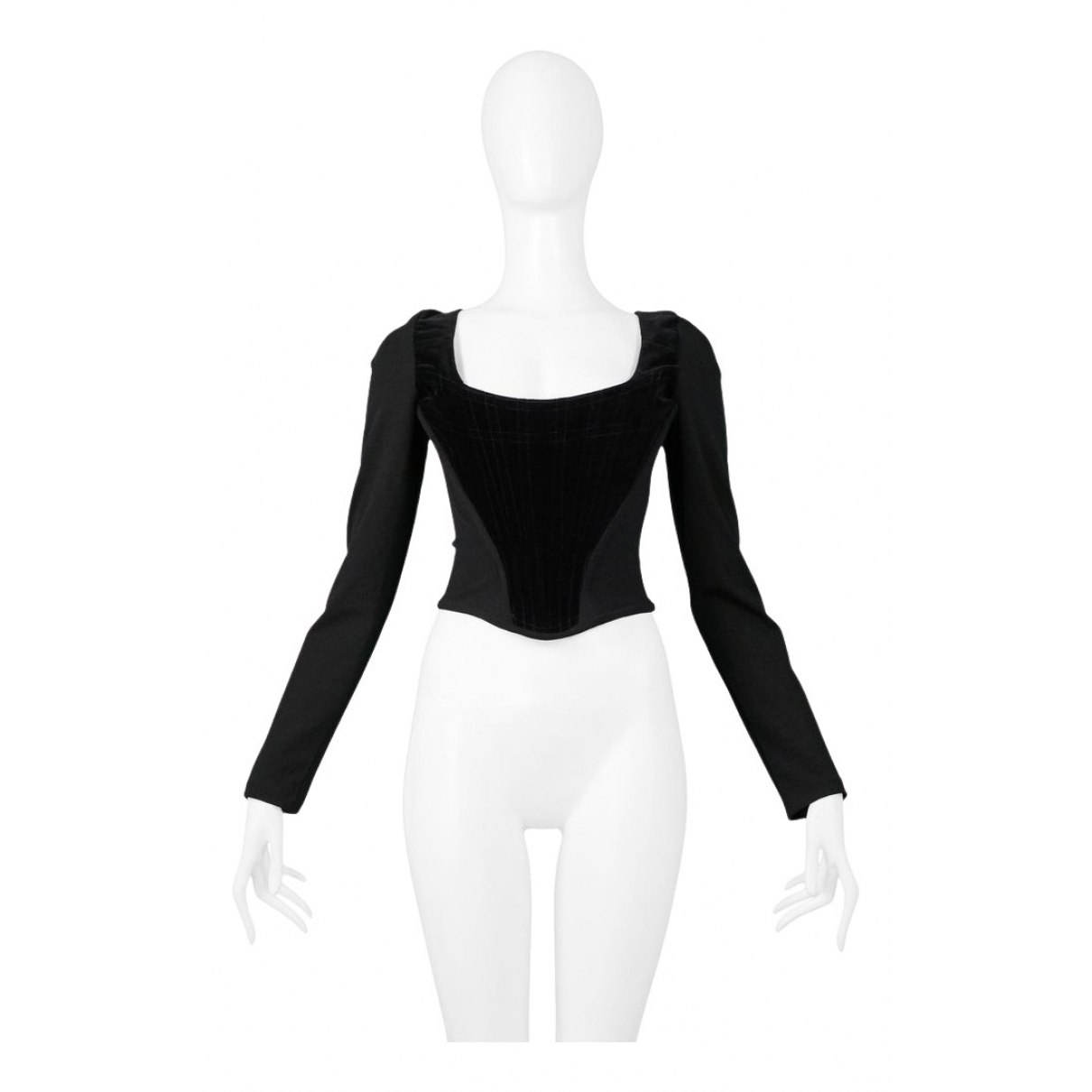 Vivienne Westwood N Black Cotton Top for Women