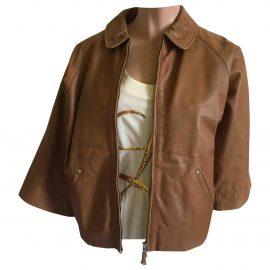 Vivienne Westwood Red Label Leather short vest