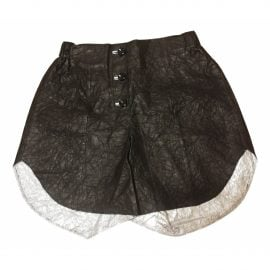 Vivienne Westwood Red Label Leather shorts