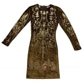 Vivienne Westwood Velvet mini dress