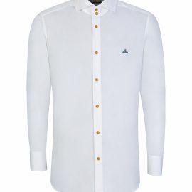 Vivienne Westwood White New Cutaway Shirt - Size S