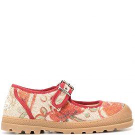 Vivienne Westwood floral-print pumps - Neutrals