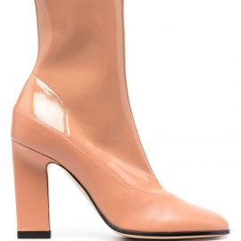 Wandler Lesly leather sock boots - Neutrals