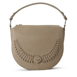 YiY - River Shoulderbag Crossbody Backpack Personalizable In Antler Taupe