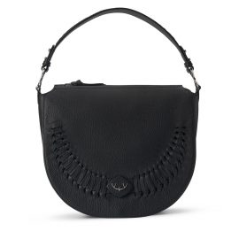 YiY - River Shoulderbag Crossbody Backpack Personalizable In Earth Black