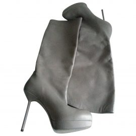 Yves Saint Laurent Leather Riding Boots