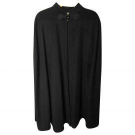 Yves Saint Laurent N Black Wool Coat for Women