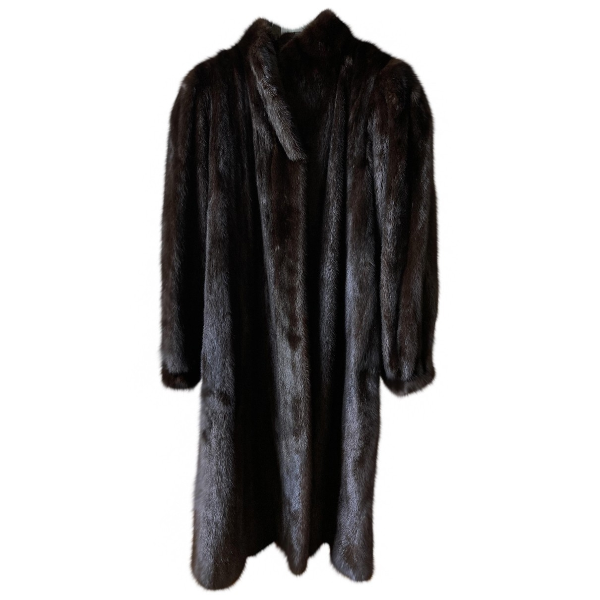 Yves Saint Laurent N Brown Mink Coat for Women