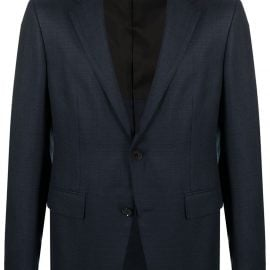 Z Zegna single-breasted suit jacket - Blue