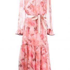 ZIMMERMANN Concert Tubular midi dress - Pink