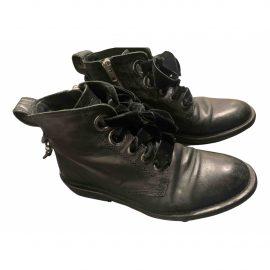Zadig & Voltaire Laureen Roma leather biker boots