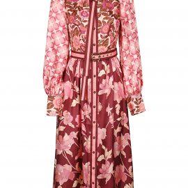 Zimmermann Concert Spliced Midi Dress