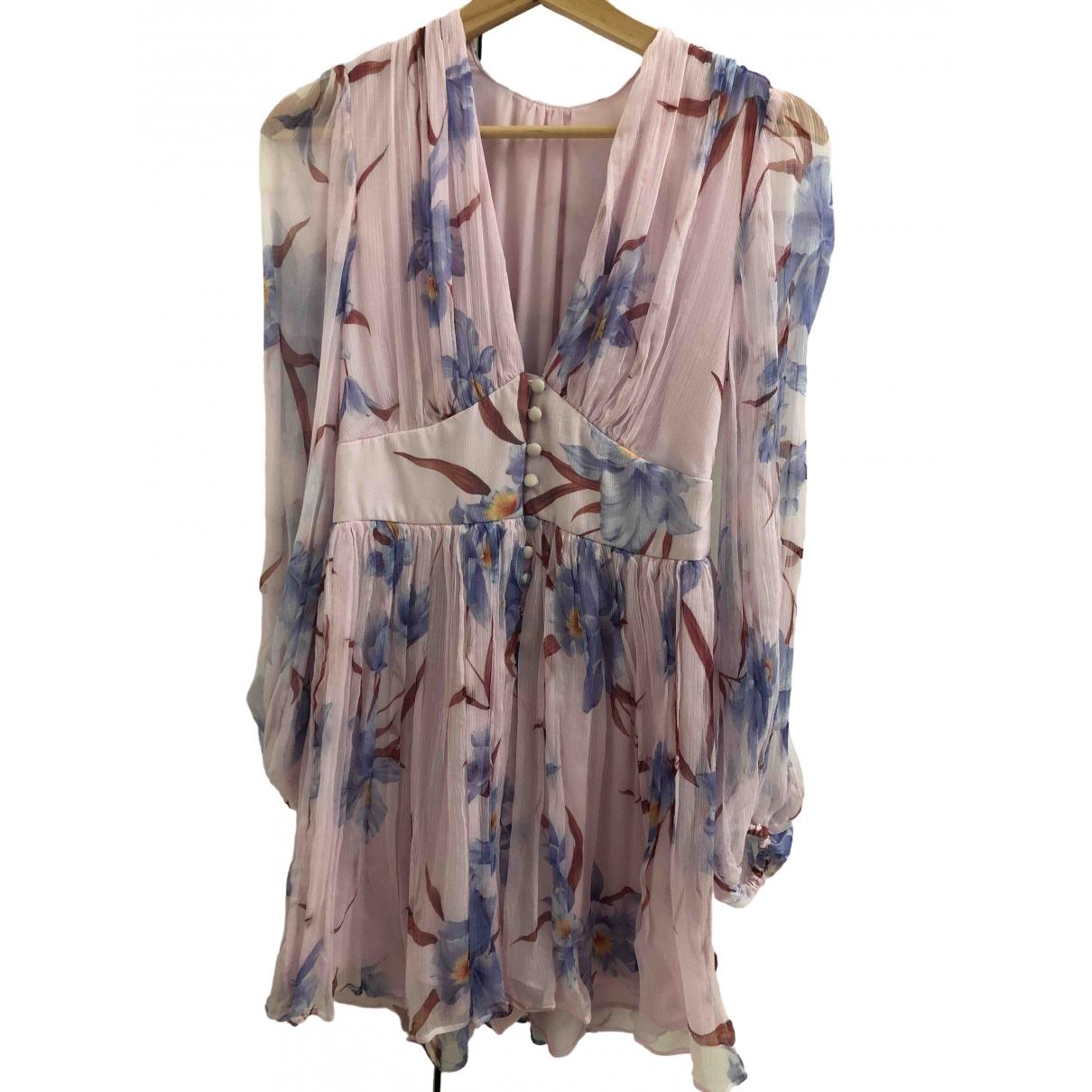 Zimmermann N Purple Silk Shorts for Women