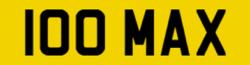 Cherished Plate – 100 MAX