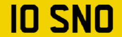 Cherished Plate – 10 SNO