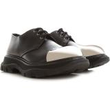 Alexander McQueen Lace Up Shoes for Men Oxfords, Derbies and Brogues On Sale, Black, Leather, 2021, EUR 39 – US 6 – UK 5 EUR 42 – US 9 – UK 8 EUR 43 –